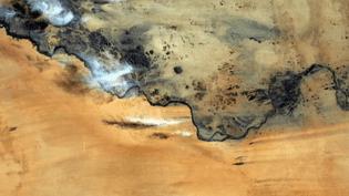 Au dessus du Soudan.  (Thomas Pesquet)