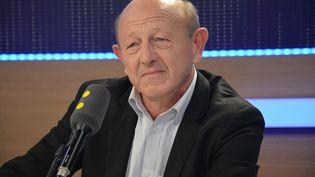 Jean-Luc Bennahmias, sur franceinfo le 23 décembre 2016 (JEAN-CHRISTOPHE BOURDILLAT / RADIO FRANCE)