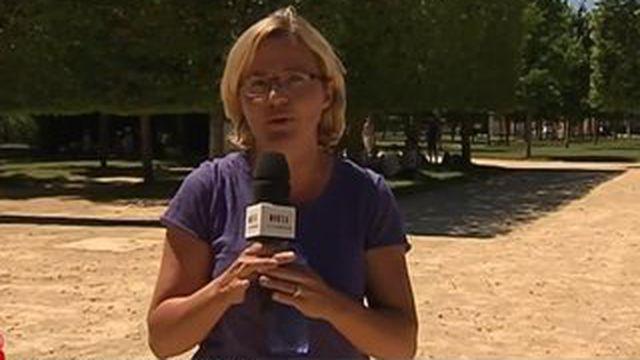 Gros coup de chaleur à Poitiers