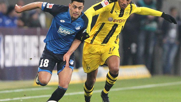 Aubameyang auteur du 2e but de Dortmund