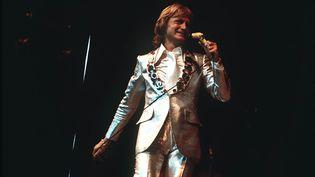 Le chanteur Claude François dans une image d'archive non datée. (VANDERHAEGEN / SIPA)