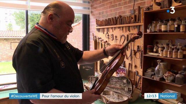 Musique : à la découverte d'un maître luthier d'exception