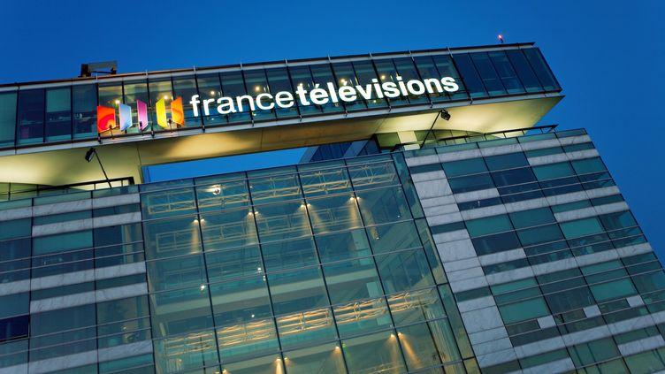 Le siège de France Télévisions, dans le 15e arrondissement de Paris, en juin 2009. (JPDN / SIPA)