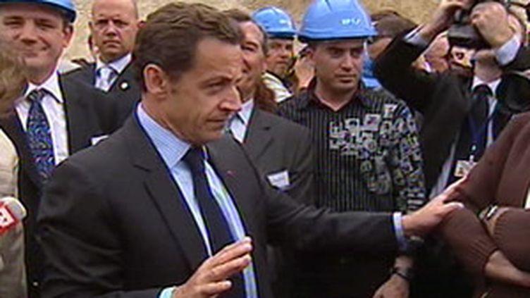 Sarkozy en déplacement  (archives)
