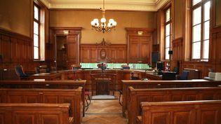 La 5e chambre de la cour d'appel de Paris, le 4 avril 2018. (JACQUES DEMARTHON / AFP)