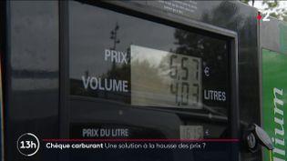 Hausse des prix de l'essence : le chèque-carburant peut-il être une solution viable ? (FRANCE 2)