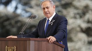 Le Premier ministre israélienBenyamin Nétanyahou, le 30 septembre 2016 à Jérusalem.  (THOMAS COEX / AFP)