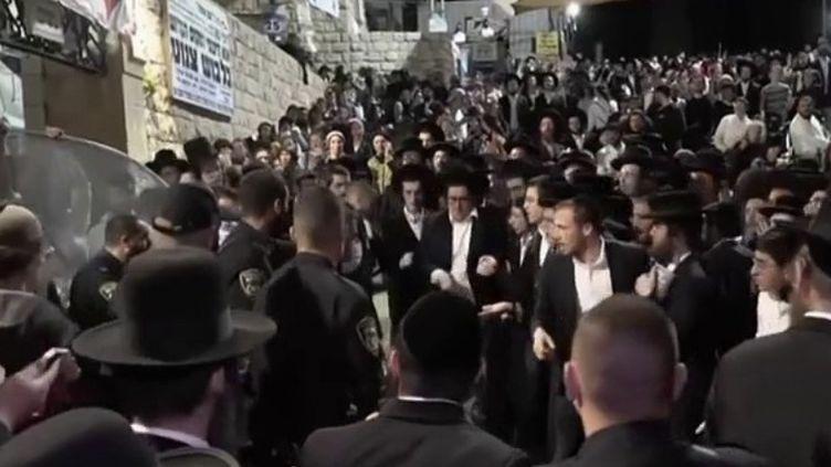 Israël : une bousculade géante fait plus de quarante morts lors d'un pèlerinage (FRANCE 2)