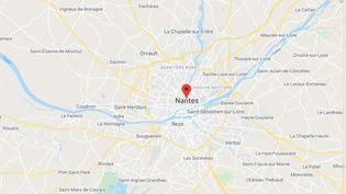Nantes (Loire-Atlantique) (GOOGLE MAPS)