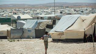Une vue du camp de réfugiés de Zaatari, en Jordanie, le 16 mai 2015. (JÖRG CARSTENSEN / DPA)