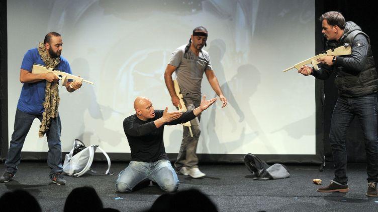 La pièce Djihad se joue à Paris jusqu'à la fin de l'année  (Raymond Delalande/Sipa Presse)