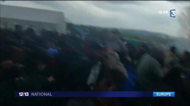 Migrants : des heurts à la frontière entre la Grèce et la Macédoine