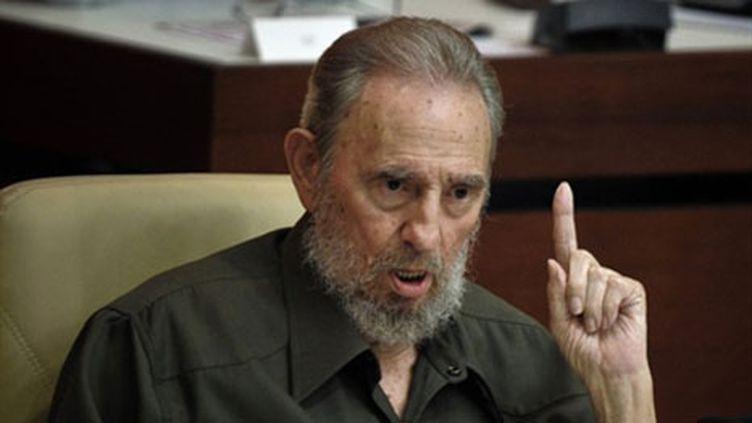 Fidel Castro, août 2010. (AFP - Adelberto Roque)