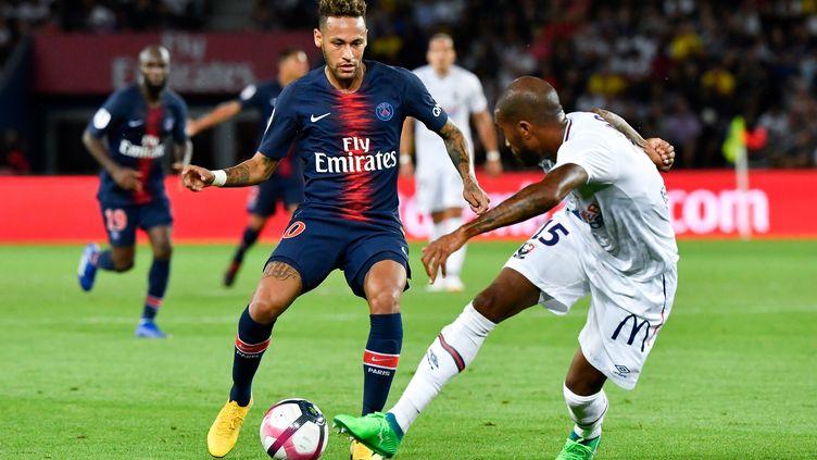 Le PSG de Neymar se rend sur la pelouse de Guingamp pour la 2e journée de Ligue 1. (GERARD JULIEN / AFP)
