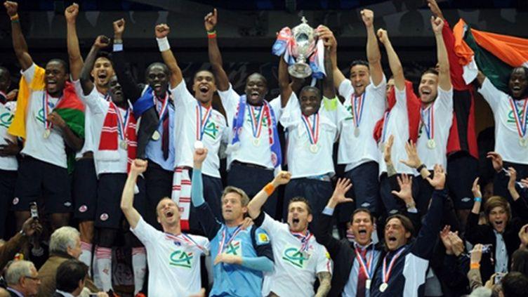 Les Lillois soulèvent la Coupe de France