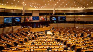 Une séance plénière au Parlement européen àBruxelles, en octobre 2020. (Martin Bertrand / Hans Lucas / Hans Lucas via AFP)