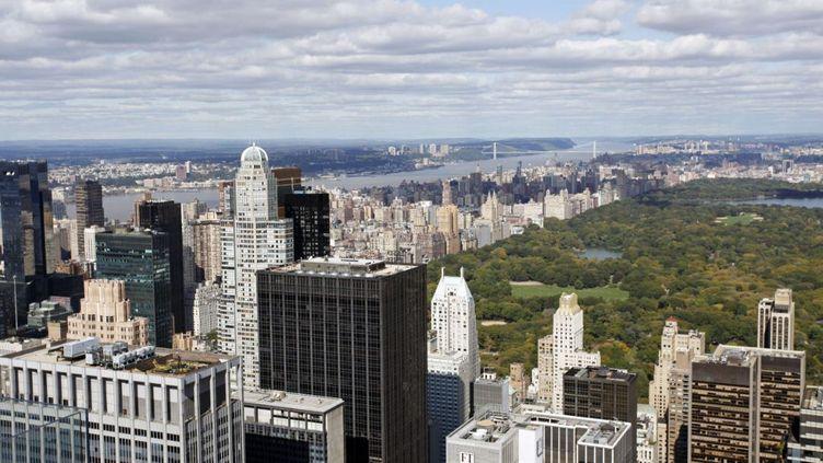 L'appartement est situé au 15 Central Park West et donne directement sur Central Park, à Manhattan (New-York). (PAUL BROWN / REX FEATURES / SIPA)