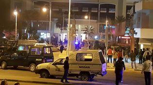 L'hôtel de Hourghada (Egypte), où trois touristes ont été attaqués, le 8 janvier 2016. (REUTERS)