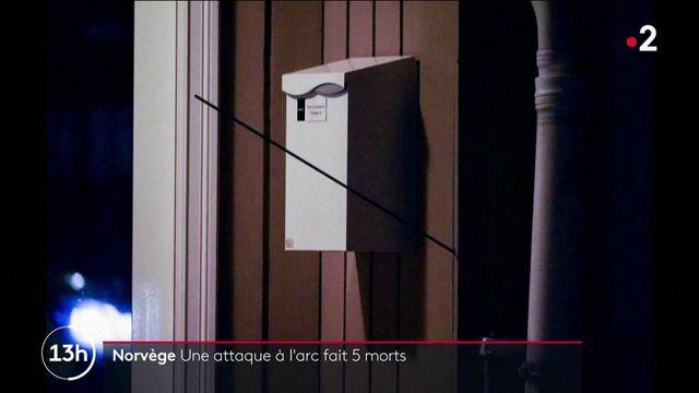 Norvège : une attaque à l'arc fait cinq morts et blesse deux personnes