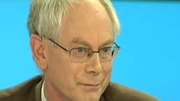 Le président de l'UE, Herman Van Rompuy. (France 2)