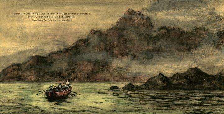 """""""King Kong"""", pages intérieures (Christophe Blain, Robinson / Hachette)"""