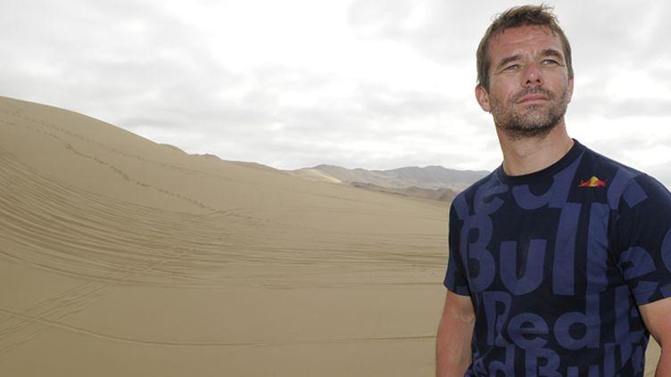 Sébastien Loeb au coeur des dunes chiliennes lors du Dakar 2014