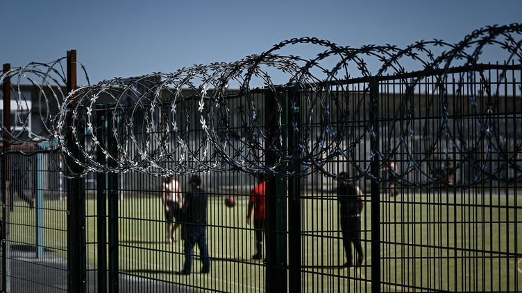 La prison de Gradignan (Gironde), le 19 avril 2021. (PHILIPPE LOPEZ / AFP)