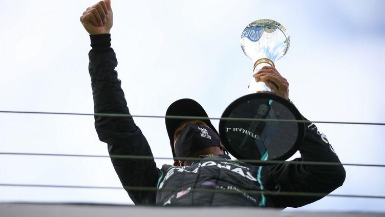 Lewis Hamilton a remporté son 92e Grand Prix (BRYN LENNON / POOL)