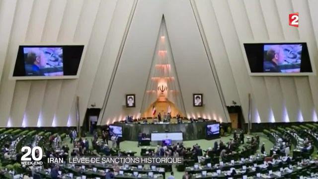 L'Iran célèbre son retour sur la scène internationale
