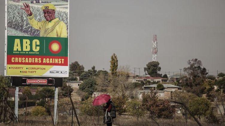 Au Lesotho, quatre anciens ministres pour un fauteuil... (GIANLUIGI GUERCIA / AFP)
