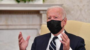 Le président américain, Joe Biden, le 27 août 2021 à Washington. (NICHOLAS KAMM / AFP)