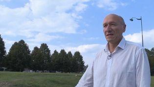 Philippe Baudrin,le maire de Maing, dans le Nord, s'est fait agresser le 20 août dernier et a accepté de témoigner. (FRANCE 2)