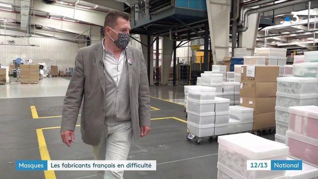 Masques : les entreprises françaises se sentent abandonnées et en appellent à l'État