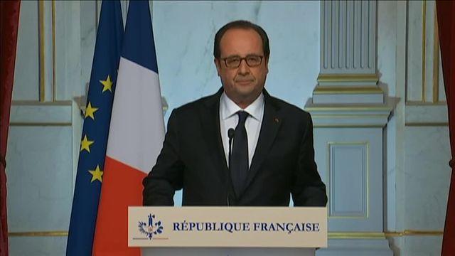 VIDEO. Après l'attaque de Nice, Hollande annonce la prolongation de l'état d'urgence