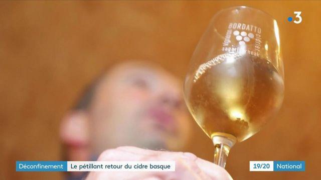 Consommation : nouvel engouement autour du cidre basque