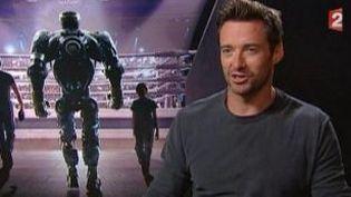 """Hugh Jackman à l'affiche de """"Real Steel"""", un film poids-lourd  (Culturebox)"""