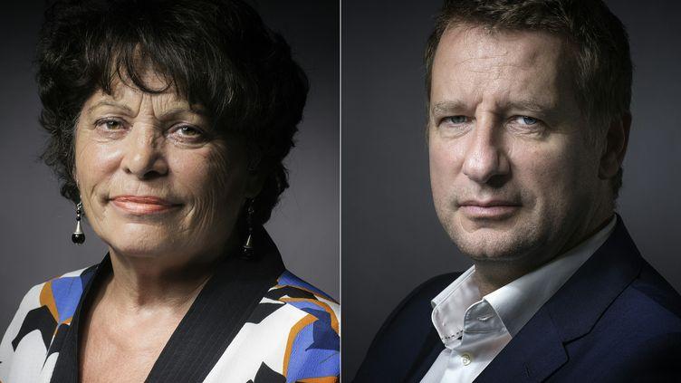 Les eurodéputés Yannick Jadot et Michèle Rivasi sont arrivés mercredi 19 octobre en tête du premier tour de la primaire organisée par Europe Ecologie-Les Verts, éliminant l'ex-ministre et patronne des Verts Cécile Duflot (JOEL SAGET / AFP)