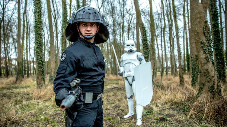 (Arnaud Miralles, président de la 501st Legion France © Matthieu Mondoloni / France Info)