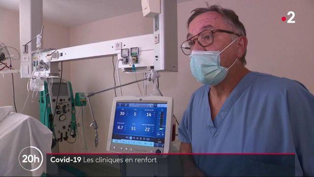 Coronavirus : les cliniques privées appelées en renfort face à la deuxième vague