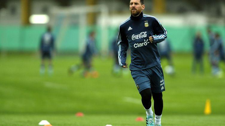 L'Argentin Lionel Messi  (ALEJANDRO PAGNI / AFP)