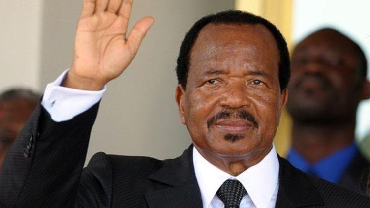 Paul Biya,  à la tête du Cameroun depuis 1982, brigue un sixième mandat. (ISSOUF SANOGO / AFP)