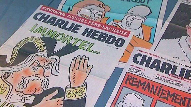 """Détail de l'exposition """"Une histoire de Charlie"""" présentée au musée de la BD d'Angoulême  (Musée de la BD d'Angoulême)"""