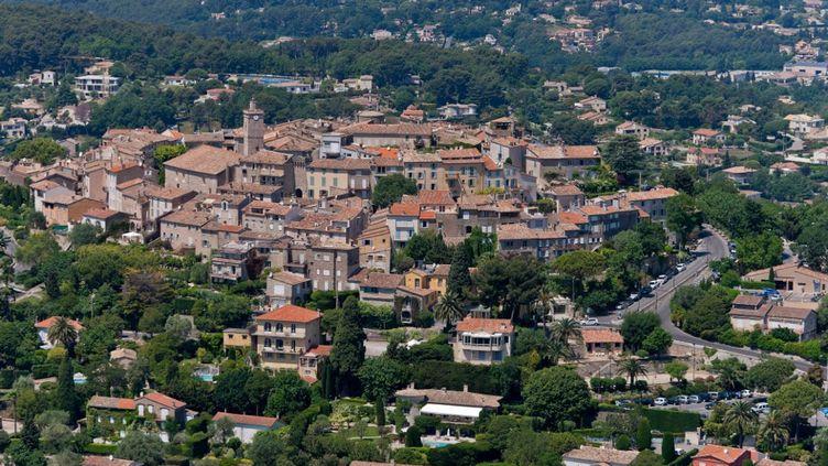 La ville de Mougins, près de laquelle a été retrouvé le corps, le matin du 24 décembre 2019. (ROBERT PALOMBA / ONLY FRANCE / AFP)