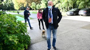 Bernard Laporte, le 3 octobre. (FRANCK FIFE / AFP)
