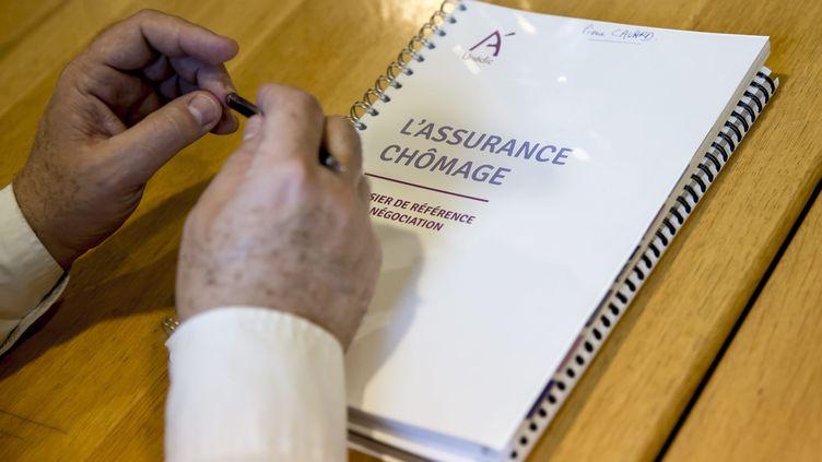 Dernière séance de négociations sur l'assurance chômage en juin 2017. (MAXPPP)