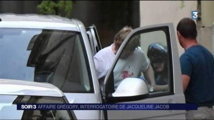 Jacqueline Jacob a décidé de répondre aux questions de la juge. (FRANCE 3)