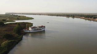 Le fleuve Sénégal. (CAPTURE ECRAN FRANCE 2)