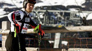 Antoine Dénériaz, ancien champion olympique de descente, en décembre 2006 à Val Gardena en Italie. (ETTORE FERRARI  / ANSA)