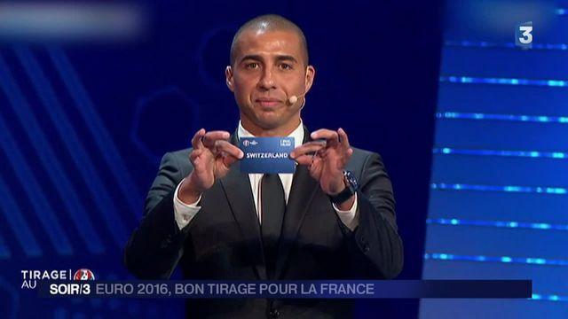 Euro-2016 : un tirage au sort clément pour les Bleus