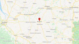 La ville de Bergerac, en Dordogne. (GOOGLE MAPS)